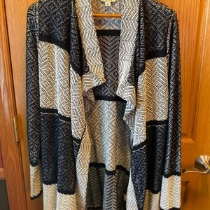 LUCKY BRAND Waterfall Open Cardigan | New w/o tags